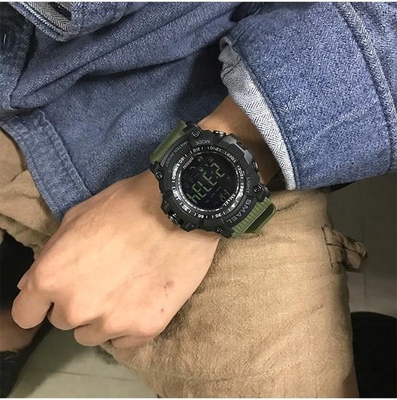 Relógio Masculino Militar Smael Envio Imediato