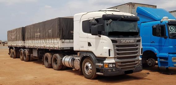 Scania R440 6x4 Automático Ano 2012 Com Bitrem