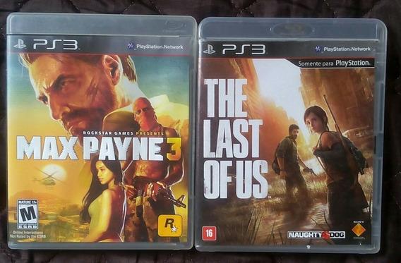 The Last Of Us + Max Payne 3 Para Playstation 3
