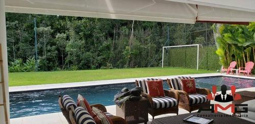 Casa Com 6 Dormitórios À Venda, 520 M² Por R$ 5.500.000,00 - Riviera - Módulo 24 - Bertioga/sp - Ca0735