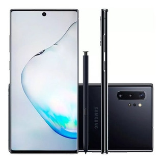 Celular Samsung Galaxy Note 10 Plus Preto 256gb 12gb Ram