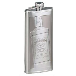 Jack Daniel S Daniels Botella Grabada Frasco De Plata