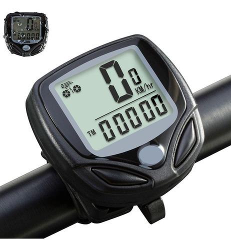Velocimetro Bicicleta 15 Funciones Ciclocomputadora Digital