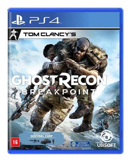 Tom Clancys Ghost Recon Breakpoint Edição De Lançamento Ps4