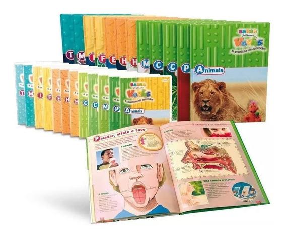 Coleção Infantil Barsa Hoobs - 12 Livros + 12 Dvds Novo