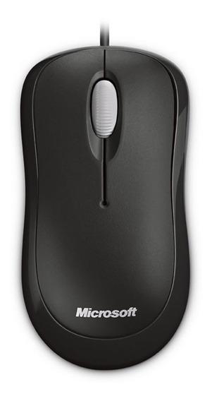 Mouse Microsoft Modelo 1113 Optico Usb Original Color Negro