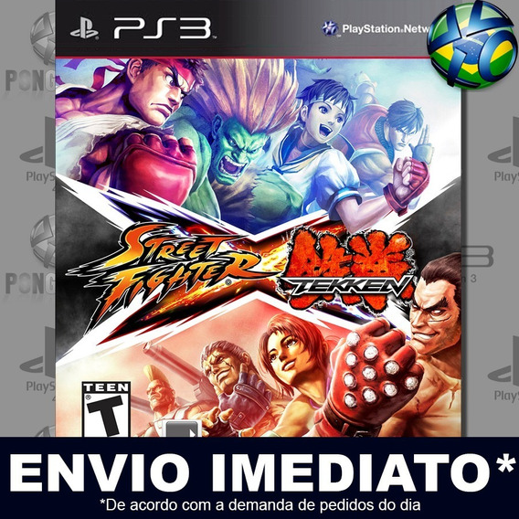 Street Fighter X Tekken Ps3 Psn Jogo Em Promoção