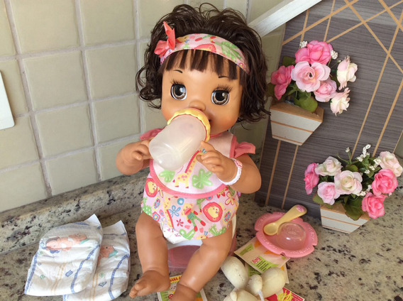 Boneca Baby Alive Hora Do Troninho / Miracle Baby
