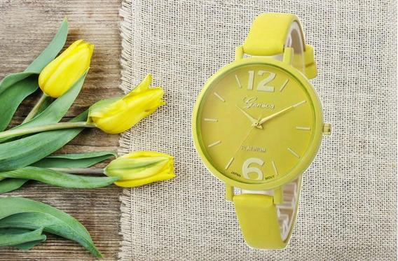 Relógio De Pulso De Luxo Menina Criança Adolescente 145