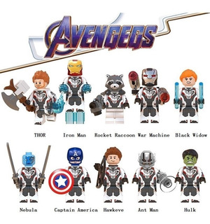 10 Figuras Lego Avengers Endgame X $10000