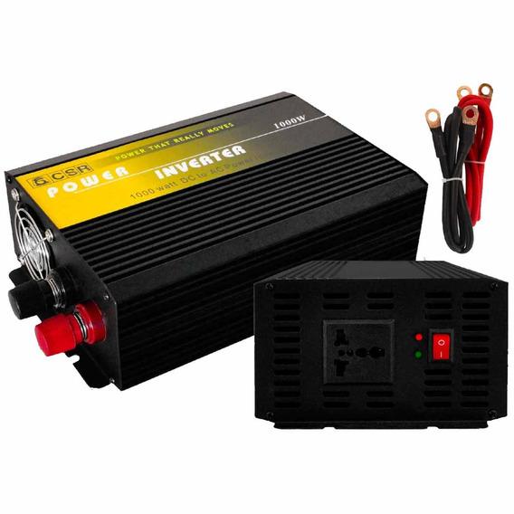 Inversor De Força Csr 1000w 24v Para 220v