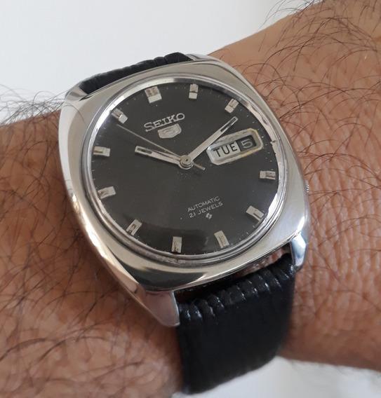 Seiko 5 6119-7103 Ano 1971 Em Aço Vintage