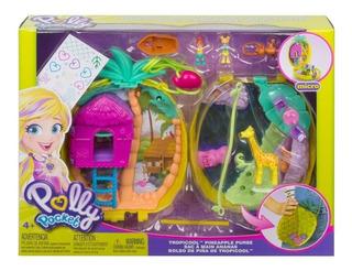 Polly Pocket - Bolsa Troopicool Mini Casa - Mattel Gkj63