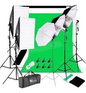 Foto Estudio Fotografía Kit 45w Bombilla Iluminación Sistema