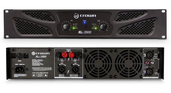 Power Amplificador Crown Xli 3500 Nuevo A Estrenar