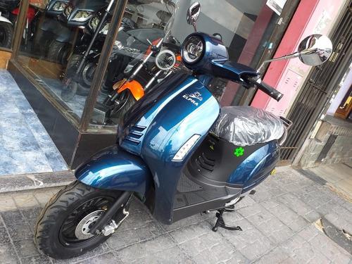 Moto Electrica Ciclomotor Scooter Folk Elpra  No Lucky Lion