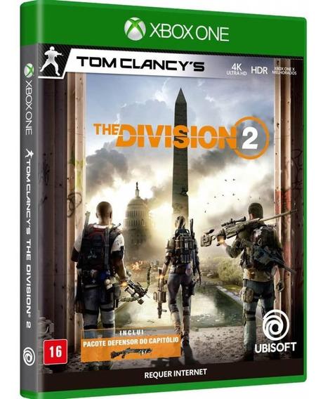The Division 2 Xbox One Midia Fisica Dvd Original Lacrado Br