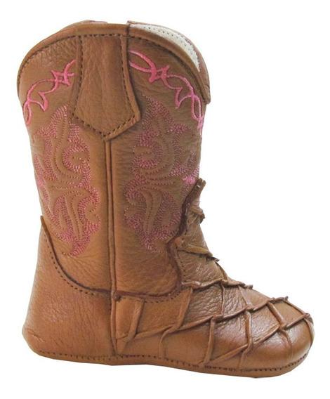 Bota Texana Infantil Caminhos Da Roça Wisky/rosa