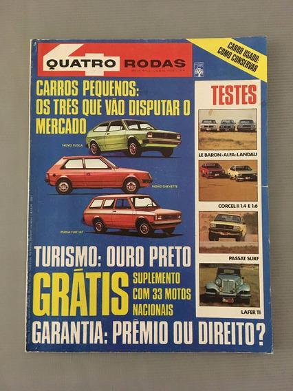 Revista Quatro Rodas - Agosto 1979 - Nº 229 Fiat Perua Fusca