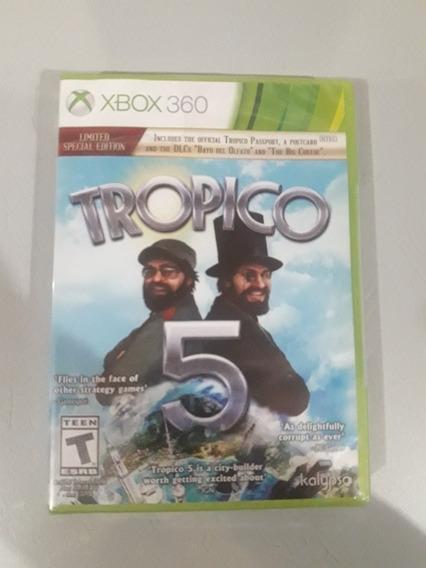 Tropico 5 Xbox 360 Lacrado