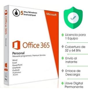 Licencia Office 365 2019 Original