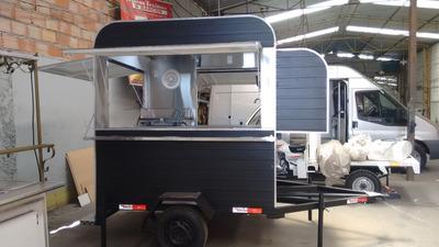 Treilher Food Truck Trailer