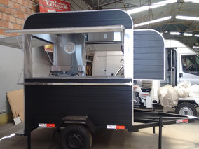 Treilher Food Truck Trailer
