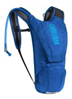 Mochila Hidratação 2,5 L Classic Azul Com Bolso