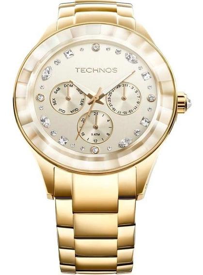Relógio Technos Crystal Swarovski Analógico 6p29ahd/4x
