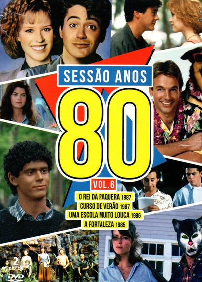 Lote Dvd Sessao Anos 80 Volumes 1 A 8 - Opc - Bonellihq R20