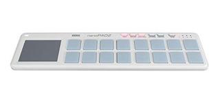 Korg Nanopad2 Slim-line Usb Midi Pads - Blanco