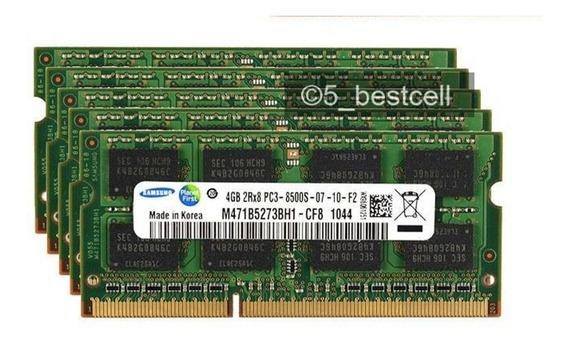 Memoria iMac 16gb Samsung Ddr3 Pc3-8500 Ddr3 1066mhz