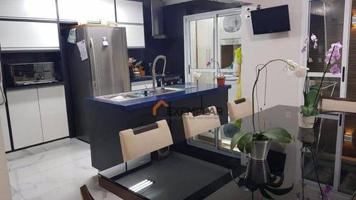 Sobrado Com 4 Dormitórios À Venda, 210 M² Por R$ 990.000,00 - Vila Pedra Branca - São Paulo/sp - So0103