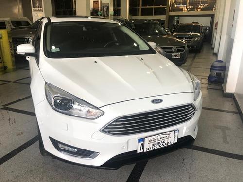 Ford Focus Ill 2.0 Titanium At6 2018 1°dueño Nuevo Como 0 Km