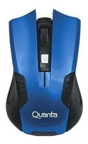 Mouse Quanta Qtmsw-1001 Optico Wireless Azul + Melhor Preço Do Brasil