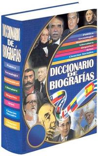 Libro De Historia Diccionario De Biografías Del Mundo 1 Tomo