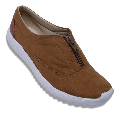 Imagen 1 de 5 de Zapato Tenis Cierre Suave Acojinado Ligero Resistente