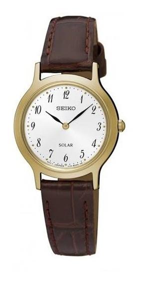Relógio Seiko Feminino Solar Sup370b1 B2nx