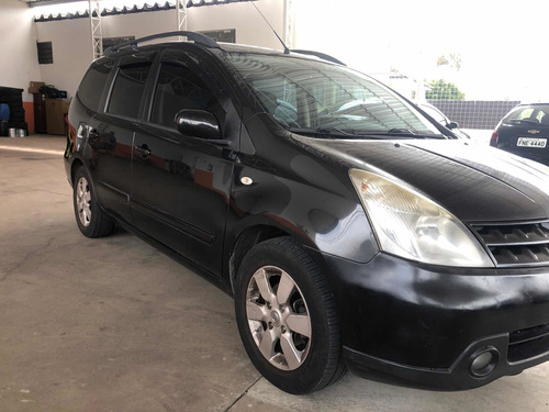 Nissan Grand Livina 2010 1.8 Sl Flex Aut. 5p