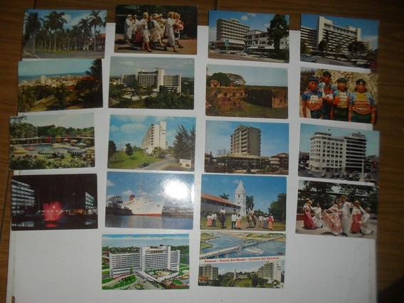 Lote 18 Postales De Panama Años 70´s