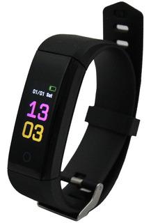 Pulseira Inteligente Fitness C Monitor Smartband E Bluetooth