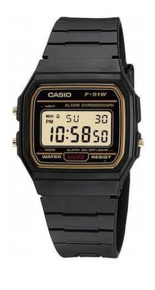 Relógio Masculino Digital F-91wg-9qdf Casio