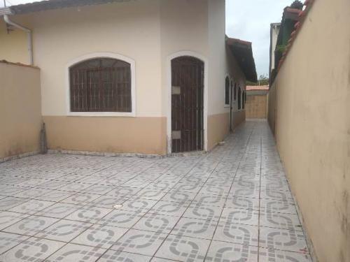 Casa À Venda No Balneário Tupy - Itanhaém 7395   Sanm
