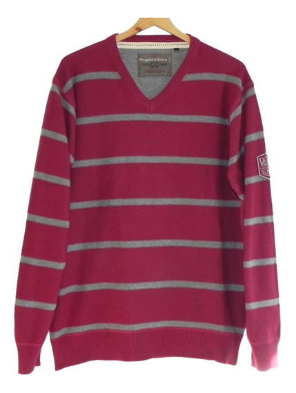 Sweater A Rayas Marca Angelo Litrico (impecable!) #sw
