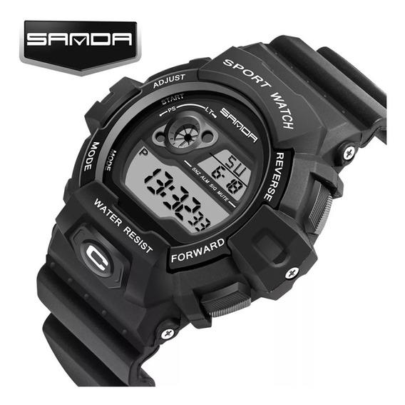 Relógio Masculino Digital Esportivo Militar Sanda Sda-310