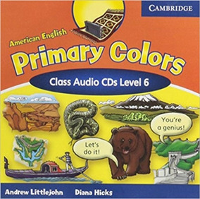 Primary Colors 6 - American English - Class Audio Cds - Camb