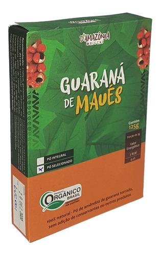 Guaraná De Maués Certificado Orgânico 125g - Manioca