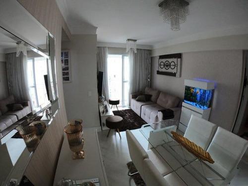 Apartamento Com 2 Dormitórios À Venda, 53 M² Por R$ 318.000 - Ponte Grande - Guarulhos/sp - Ap0820