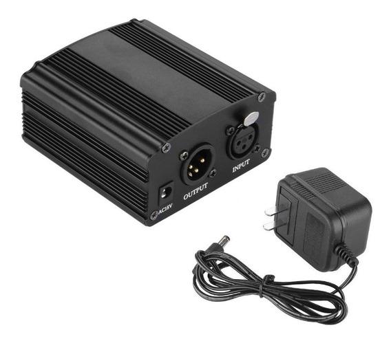 Phantom Power Fantom Power 48v Com Fonte Bm 800