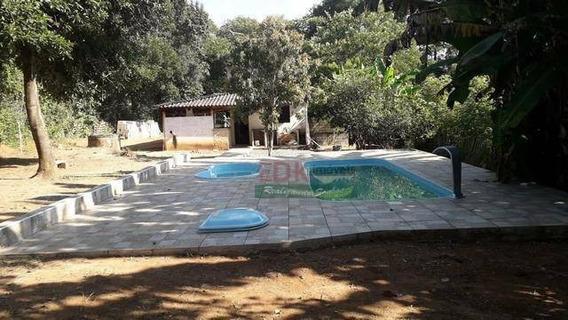 Chácara Com 1 Dormitório À Venda, 1500 M² Por R$ 220.000,00 - Jardim Guadalupe - Caçapava/sp - Ch0145